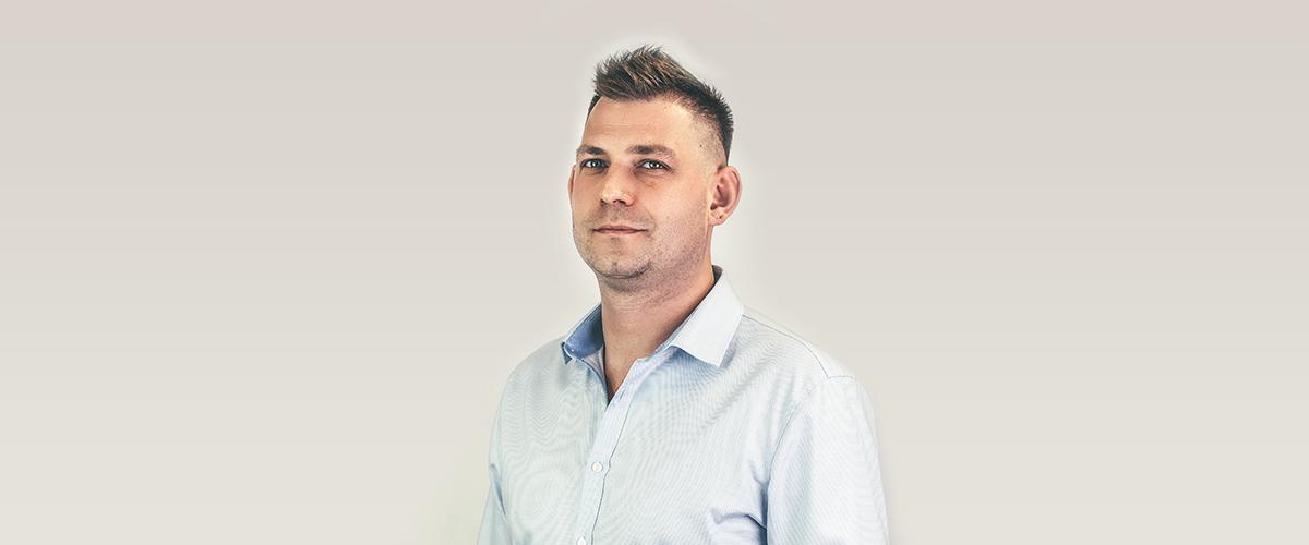 Jakub Wasilewski na stanowisku Export Manager